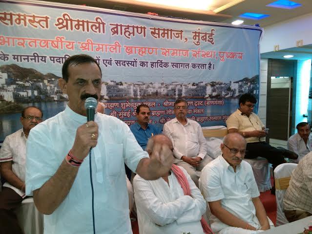 भारत को विश्व गुरु बनाने में ब्राह्मण समाज की अहम भूमिका - दवे