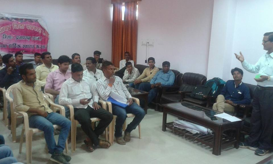प्रेस ऑफ इंडिया की प्रतापगढ़ कार्यकारिणी का गठन