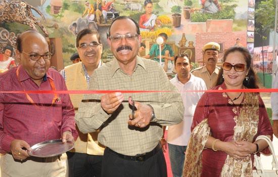 अर्न्तराष्ट्रीय व्यापार मेला में हर तरफ राजस्थान समृद्ध कला, संस्कृति और प्रगति का अनूठा संगम