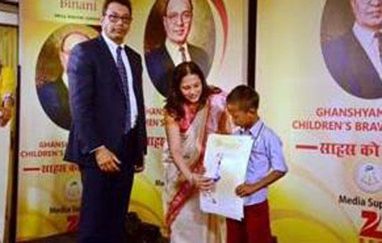 Binani honours India's young bravehearts