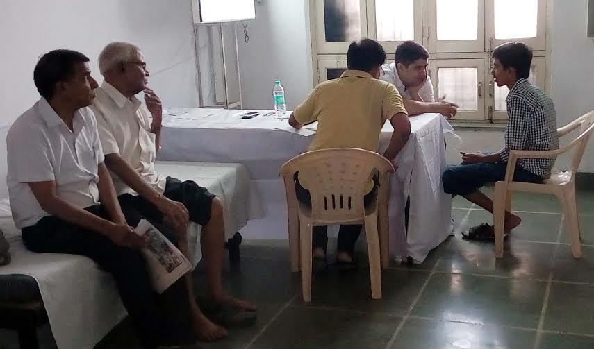 शेल्बी हॉस्पिटल, अहमदाबाद के साझे में लगा मेडिकल शिविर