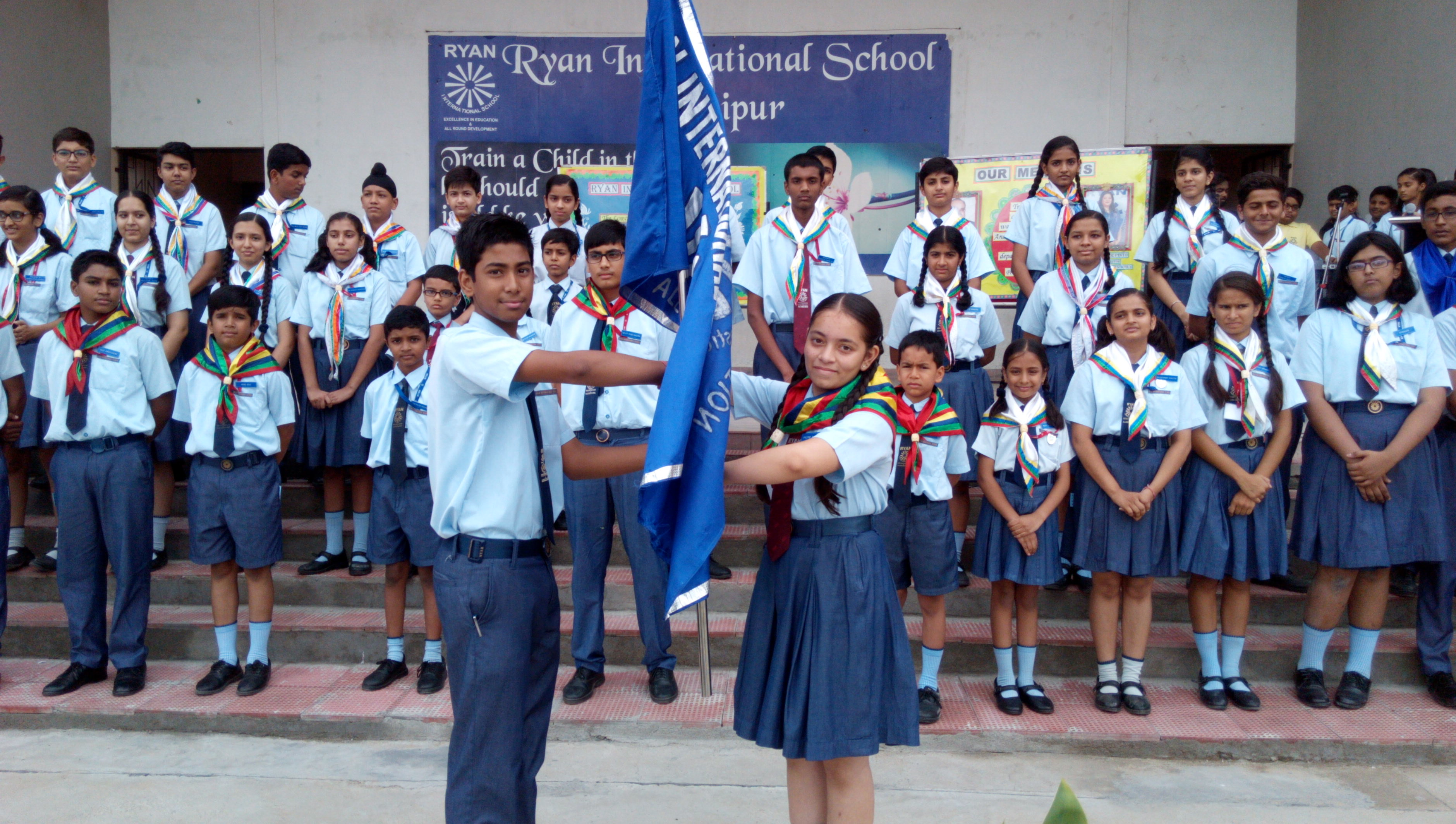 Investiture Ceremony at Ryan International School