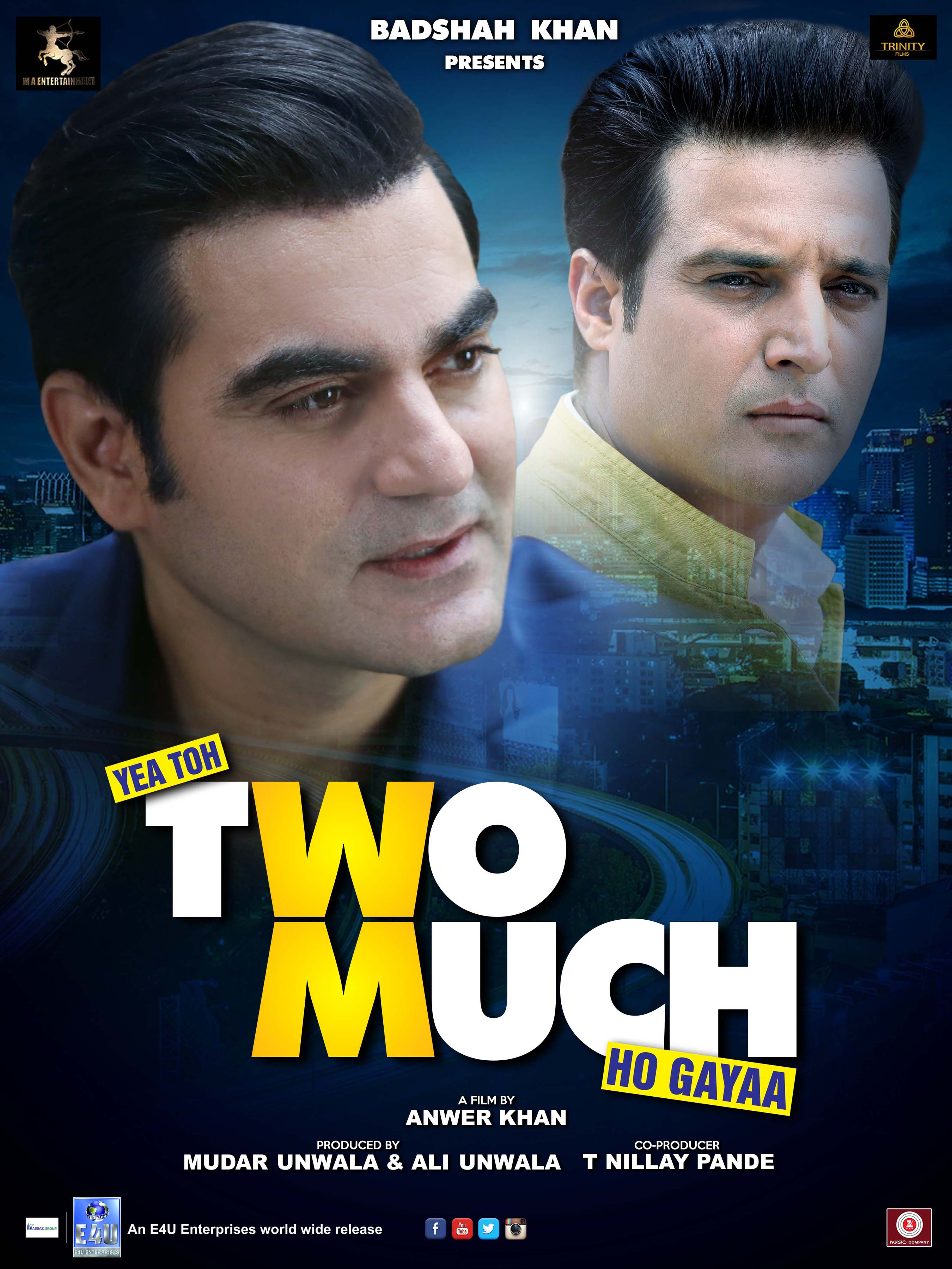 Yea Toh Two Much Ho Gayaa  poster released