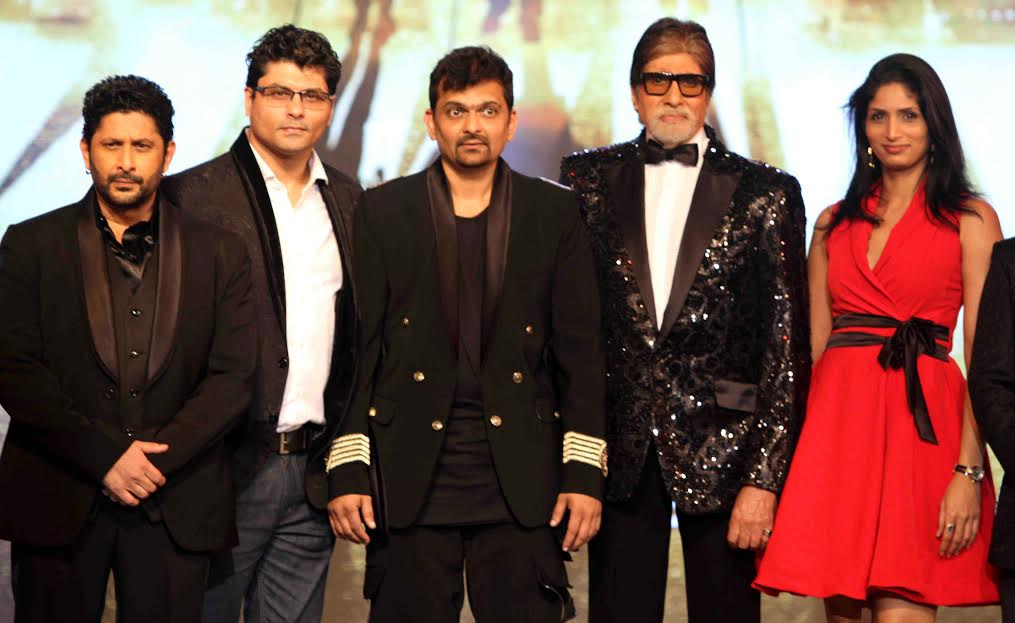 Riyaz and reshma Gangji of Libas designed special tuxedos for Amitabh Bachchan,