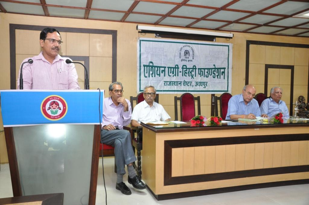 पारंपरिक कृषि विज्ञान का जैविक कृषि मे महत्वपूर्ण योगदान- प्रो. उमा शंकर शर्मा