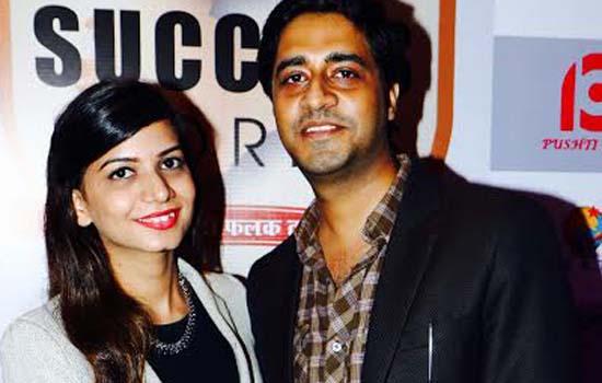 Shekhar Suman and Ankita Monga at press meet