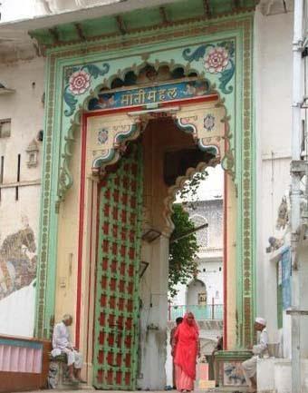 विष्व प्रसिद्ध श्रीनाथ जी मंदिर, नाथद्वारा