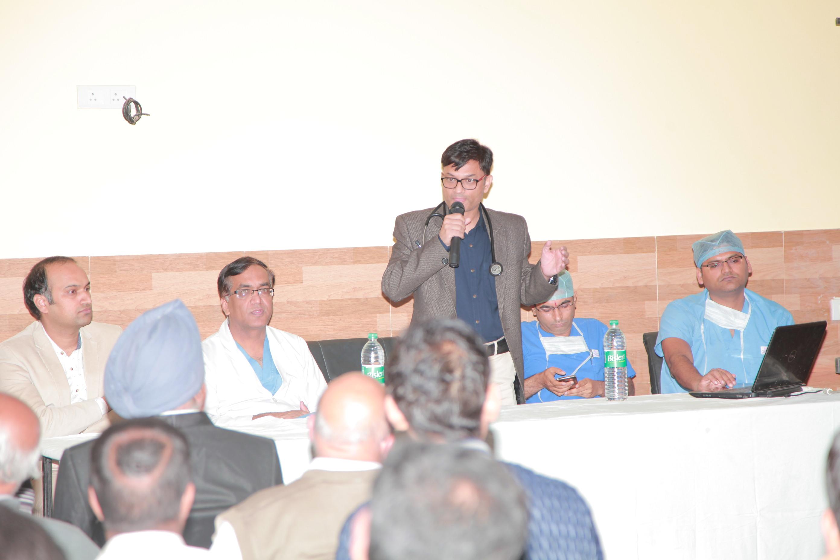 दक्षिणी राजस्थान में एओर्टिक एन्यूरिज्म का सर्वप्रथम सफल उपचार