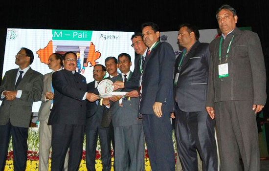 दिल्ली में राजस्थान की तीन चिकित्सा संस्थानों को राष्ट्रीय सम्मान