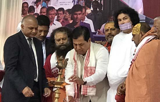 असम में सर्व धर्म स्वच्छता एवं सद्भावना संवाद शिखर सम्मलेन का सफल आयोजन