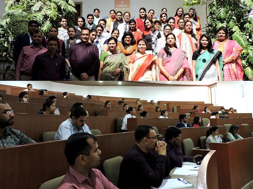 """एमबीए कॉलेज में """"रिइनवेंटिंग वुमन लीडरशिप"""" पर संगोष्ठी का आयोजन"""