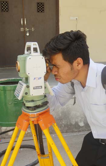 "learnt various technologies@""Total Station"""