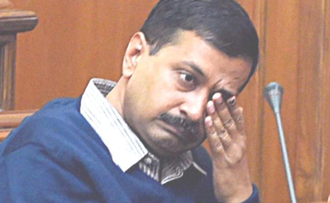 AAP  के सर्वे में जीत रही है भाजपा