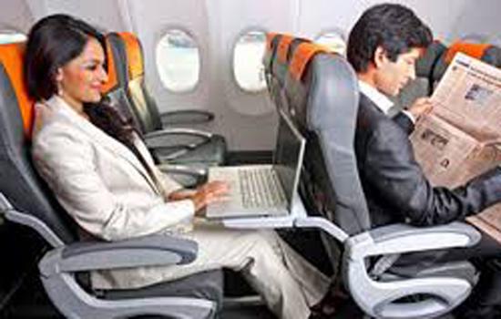 विमान में आनलाइन मनोरंजन