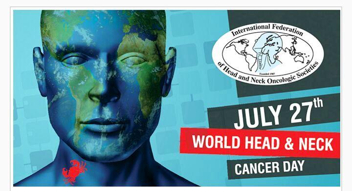 वर्ल्ड हैड नेक कैंसर डे