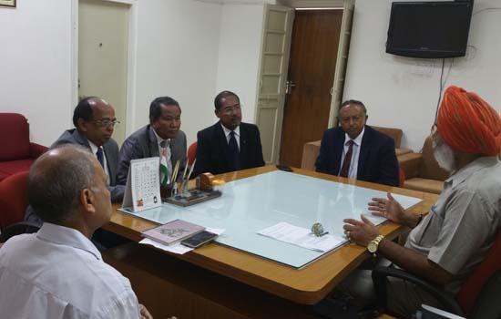 अफ्रीकी देश मेडागास्कर के प्रतिनिधि मण्डल ने टी.टी. से की भेट