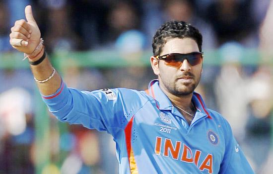 युवराज भारतीय वनडे टीम से बाहर