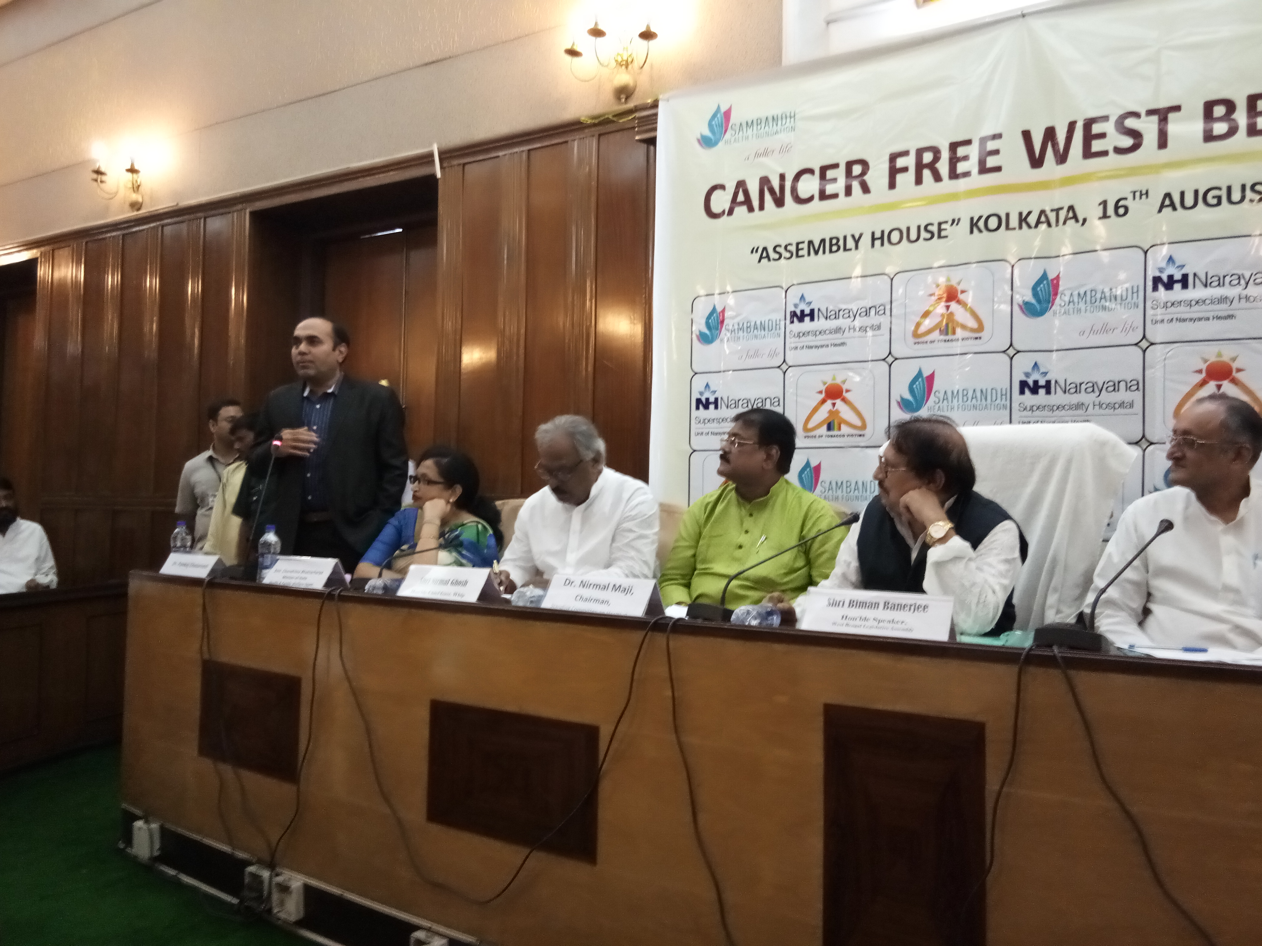 Cancer Free West Bengal program in Assembly
