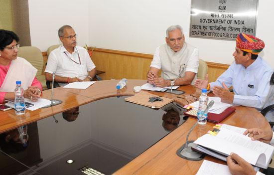 राजस्थान में मूंग और मुगफली की पी एस एफ स्कीम के तहत खरीद होगी