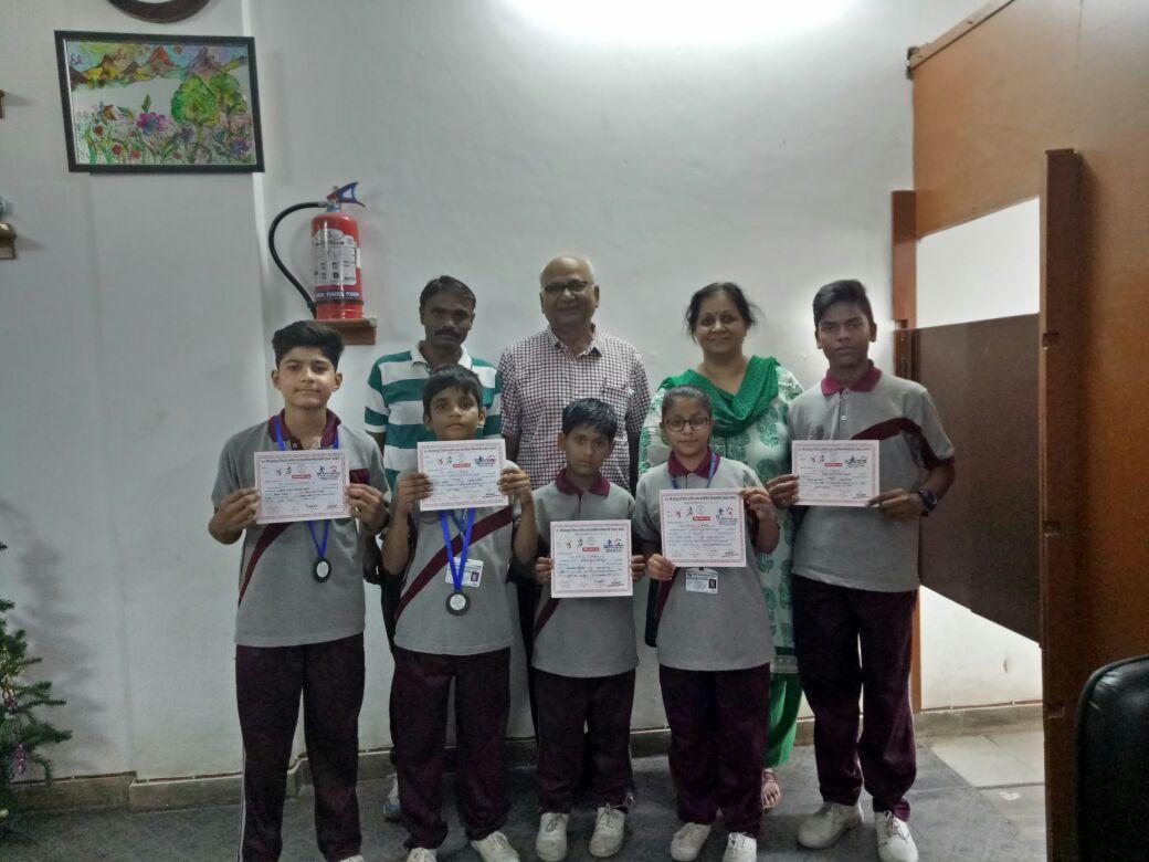 जुडो में नोबल स्कूल के छात्रों को 4 पदक