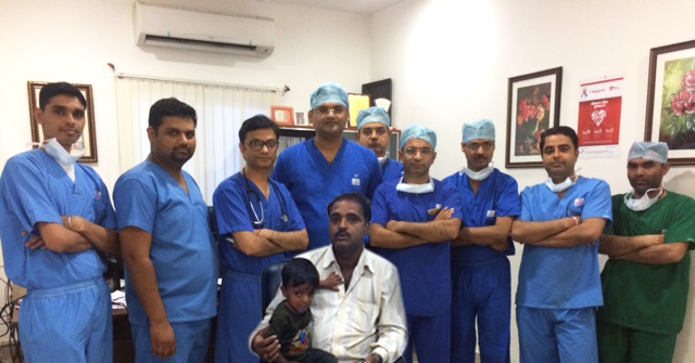 First Successful Hybrid Operation of Heart in Rajasthan
