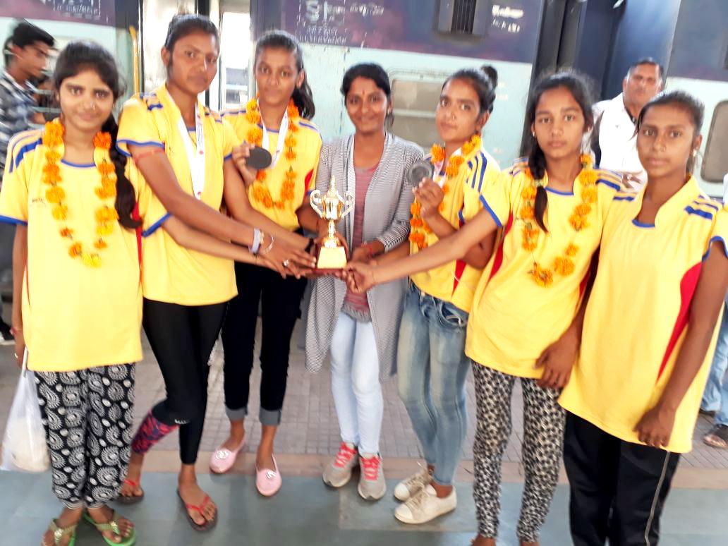 राष्ट्रीय स्तर सेपक तकरा बालिका वर्ग में राजस्थान को कॉस्य पदक