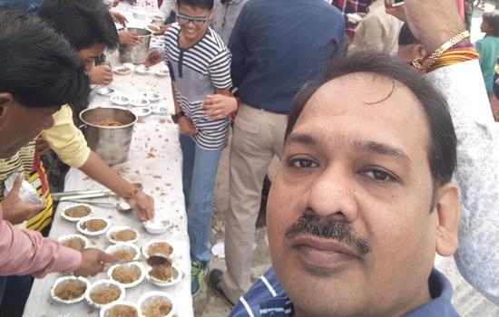 योग शिविर के साथ निकाली स्वच्छता जागरूकता रैली