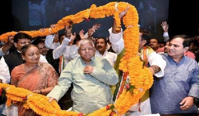श्रीबाबू की जयंती पर कांग्रेस, लालू ने एकजुट