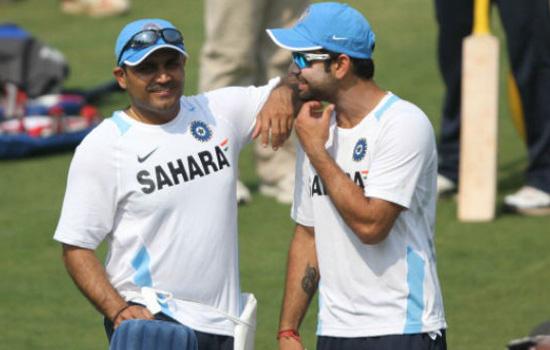 कोहली की चलती तो भारतीय टीम का कोच होता : सहवाग