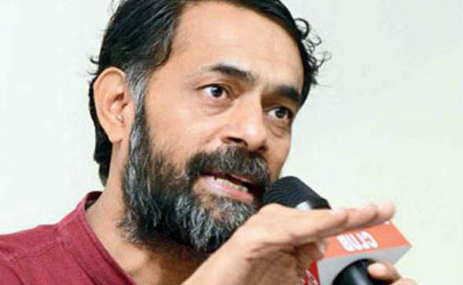 बोले योगेंद्र यादव- गुजरात में आ सकता है राजनीतिक भूकंप