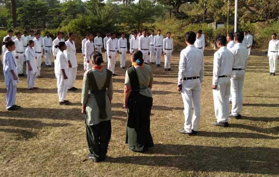 स्काउड एंड गाईड का सात दिवसीय प्रशिक्षण शिविर प्रारंभ