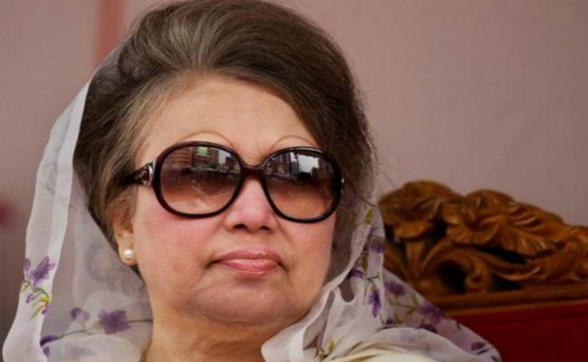 खालिदा जिया को भ्रष्टाचार के मामले में पांच साल की जेल