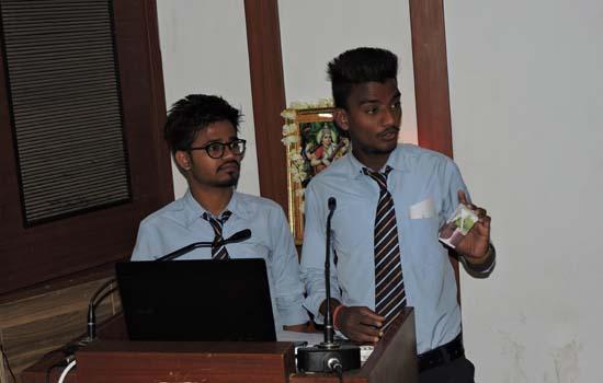 मार्केटिंग प्लान प्रतियोगिता का आयोजन