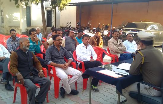 सीएलजी बैठक में सड़क सुरक्षा अपराधों की रोकथाम पर चर्चा