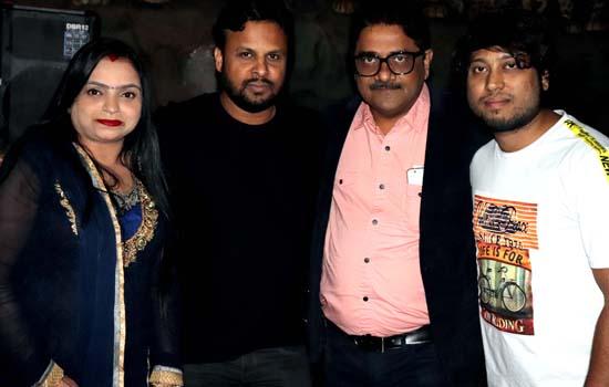 birthday party of Producer Pradeep Sharma at MRP Lounge