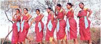 गुजरात के डांग का यह नृत्य बढ़ा रहा है शिल्पग्राम की शोभा