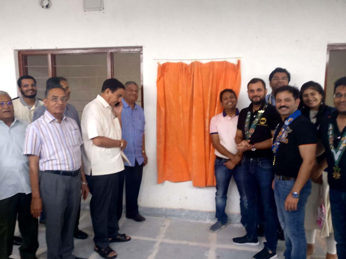 राउण्ड टेबल इण्डिया ने किया स्कूल ब्लॉक का निर्माण