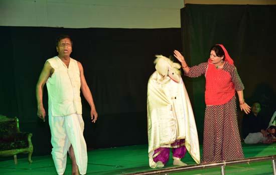 हास्य नाटक गधे की बारात का मंचन 21 अप्रेल को