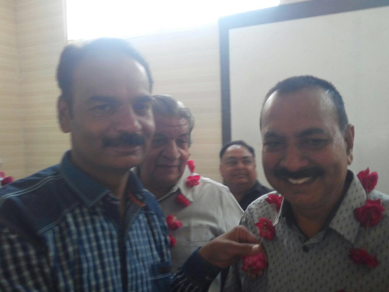 सिंधी मिलन ग्रुप कृषि उपज मंडी  की चुनाव बैठक