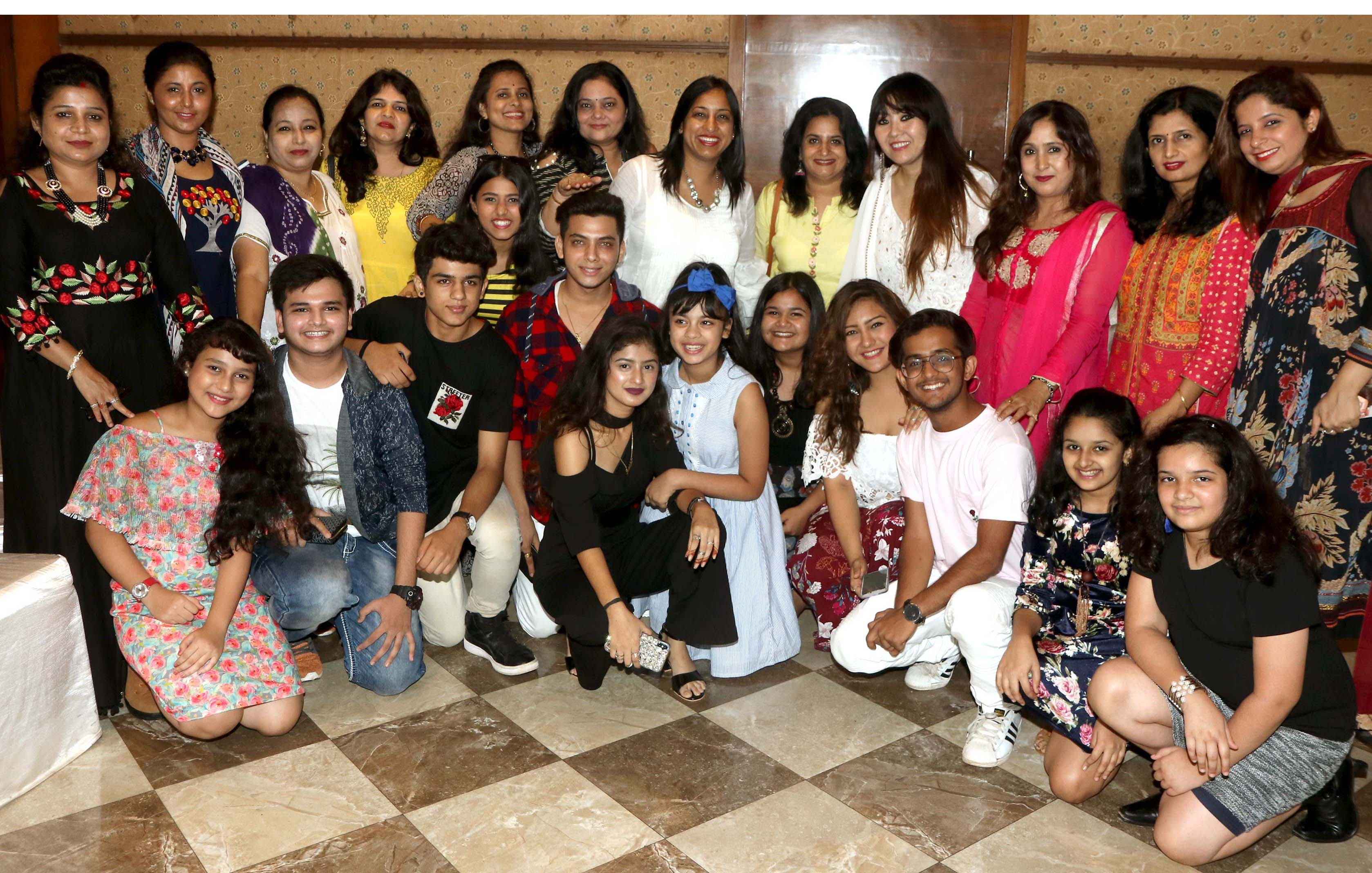TV Actors from different serials celebrated Mother's Day at Peninsula Grand Hotel.