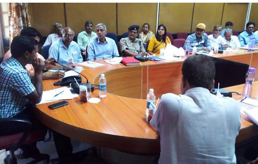 अन्तर्राष्ट्रीय योग दिवस के आयोजन को लेकर विभिन्न विभागों को सौंपे दायित्व