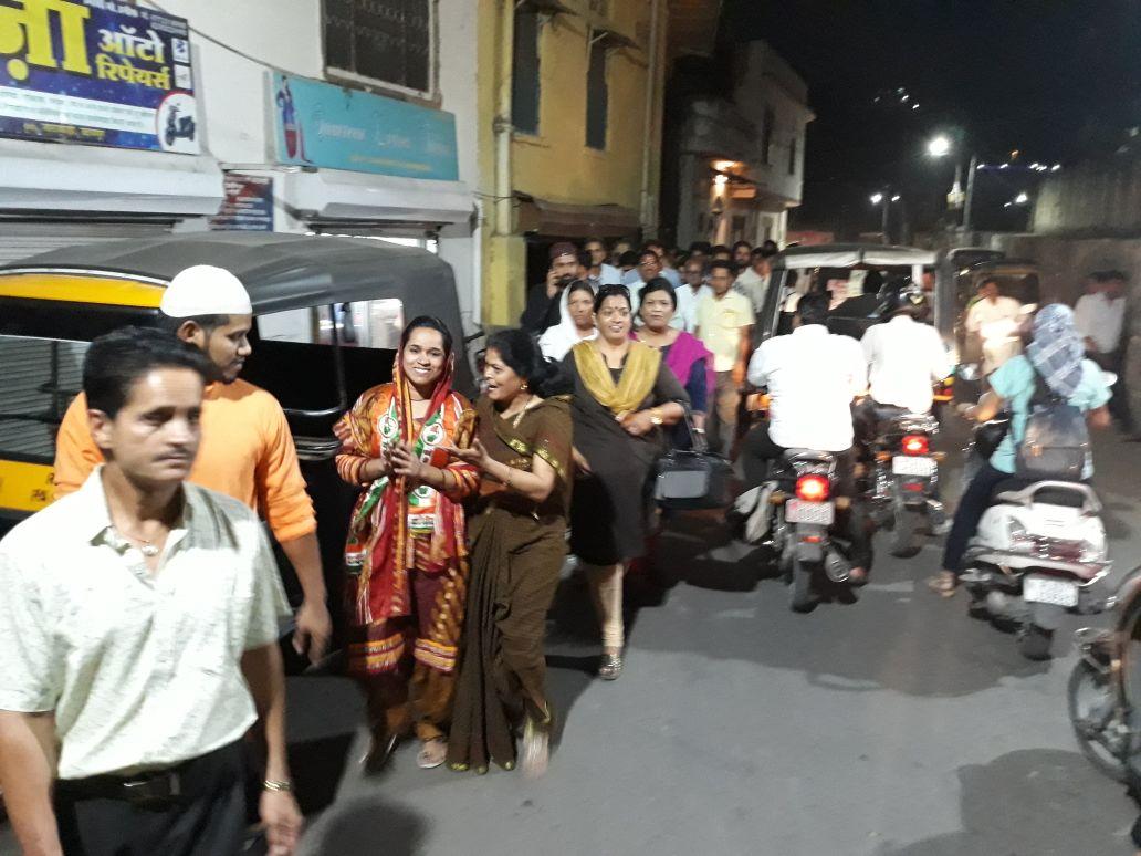 शाहीन निशा के समर्थन में पूर्व सांसद रघुवीर मीणा