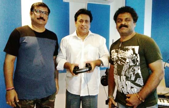 धार्मिक मंत्रों की रिकॉर्डिंग मुंबई में सम्पन्न हुई