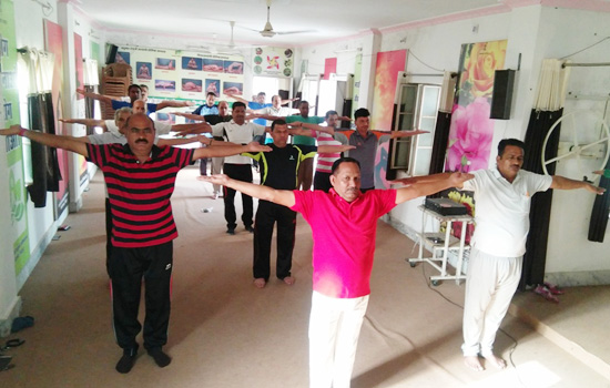 शारीरिक शिक्षकों का योग प्रशिक्षण शिविर सम्पन्न