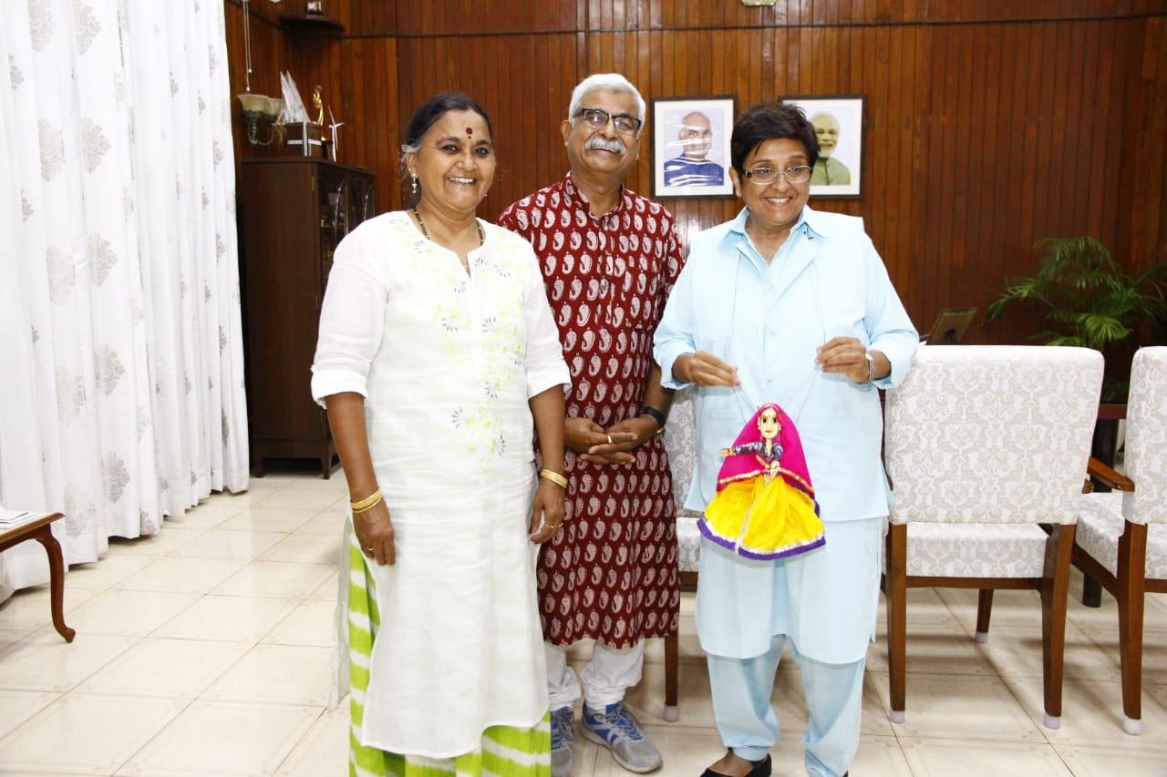 किरण बेदी ने सराही राजस्थान की भेंट