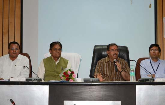 राष्ट्रीय वयोश्री योजना की बैठक