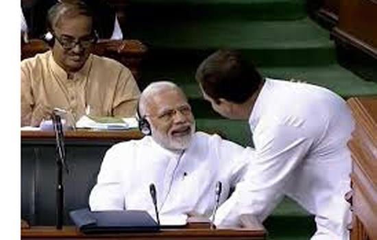 राहुल सचमुच मोदी के ''अंदर तक' घुस गए