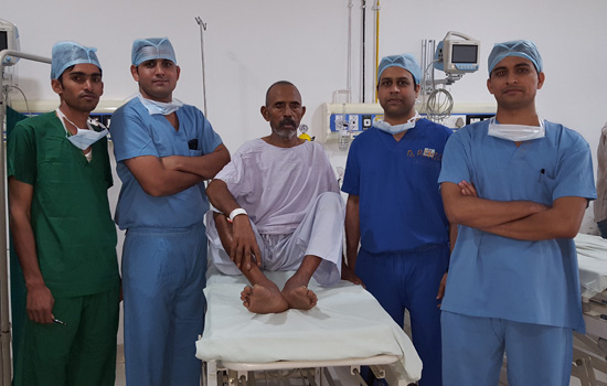 """GMCH Performs the first Lung Cancer Surgery"""
