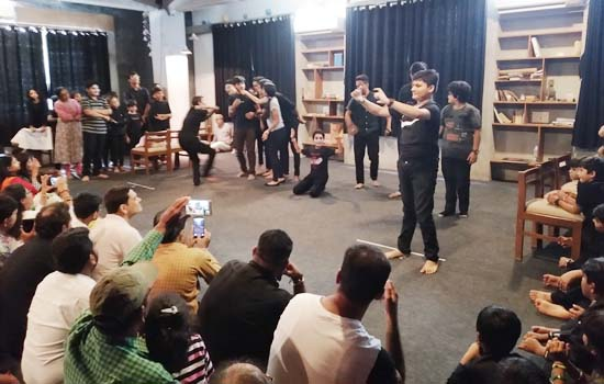 One Week Mime Workshop at Ahemdabad and Gandhinagar