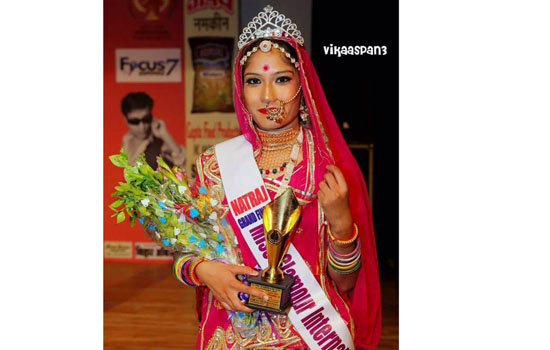 जया मीणा ने जीता ग्लैमर इन्टरनेशनल २०१८ का खिताब